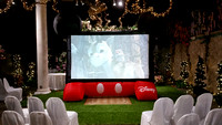 Birthday Parties Movie Screen